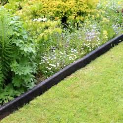 buy black crumb rubber garden edging best prices