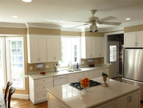Low Ceiling Kitchen Cabinets How To Add Value To Your Home By Installing Crown Moldings Decor Lovedecor