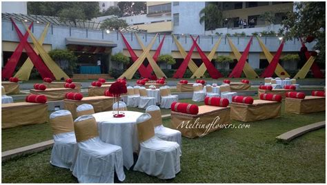 garden of decoration weddings in garden garden wedding decorations melting