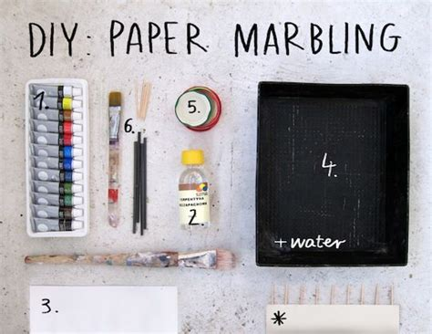 How To Make Marbled Paper - the world s catalog of ideas
