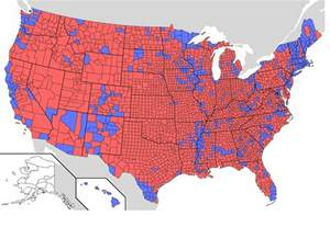 file us presidential election 2004 results by county jpg
