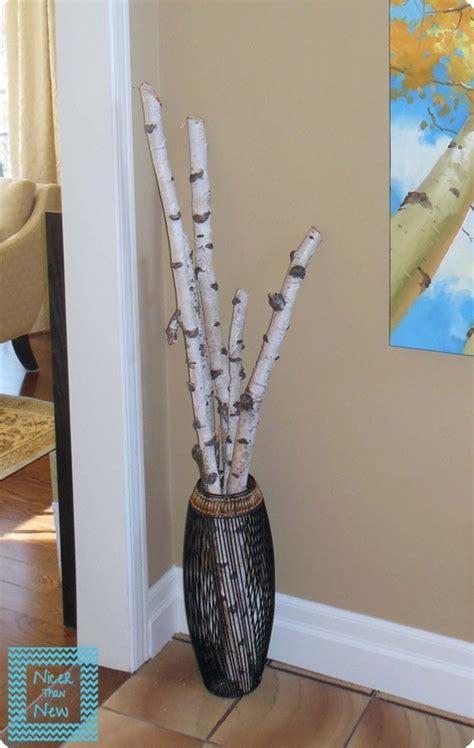 decorating  birch branches