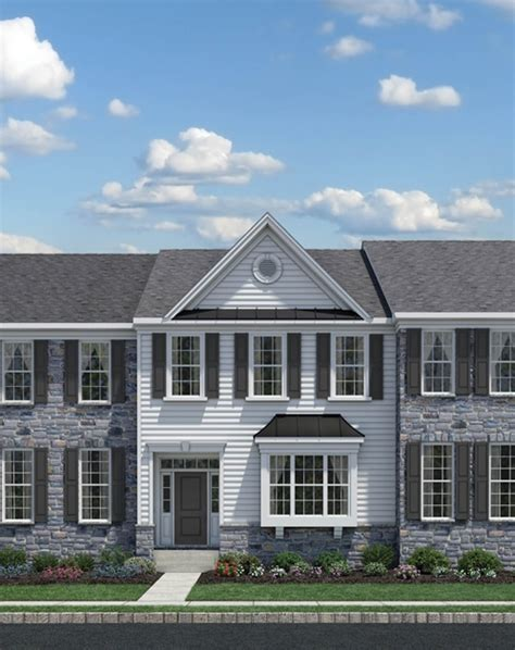 ravenscliff at media townhomes the bethesda home design