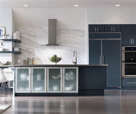 painted blue kitchen cabinets blue painted kitchen cabinets decora cabinetry