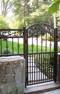 Decorative Iron Gates by Best 25 Wrought Iron Gates Ideas On