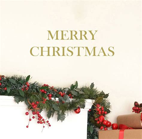 merry wall stickers by leonora hammond