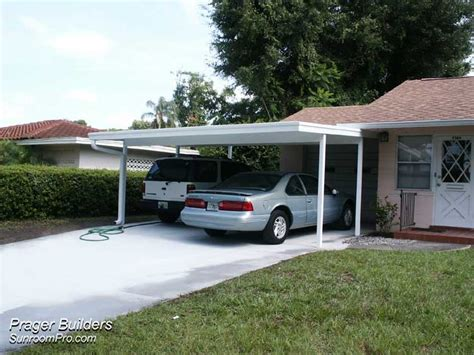 Car Port Cover by Carport Cover Orlando Prager Builders Sunroom Pro