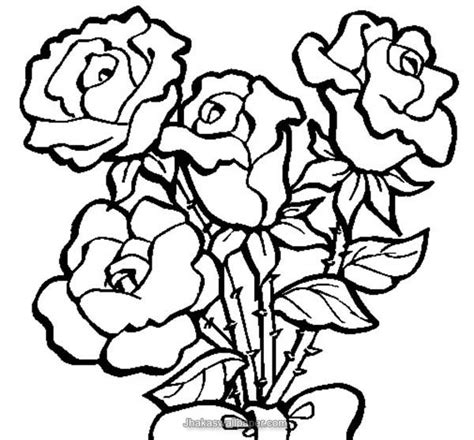 rose coloring pages 10336 bestofcoloring com