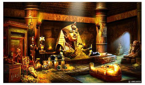 artstation ancient egyptian treasure room junti dutta