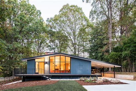 mid century modern home a mid century modern recreation ocotea house renovation