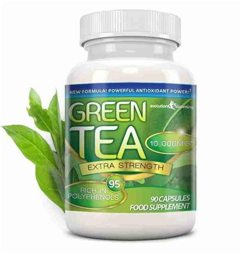 How To Detox Polythenols by Green Tea Capsules 10 000mg With 95 Polyphenols Green