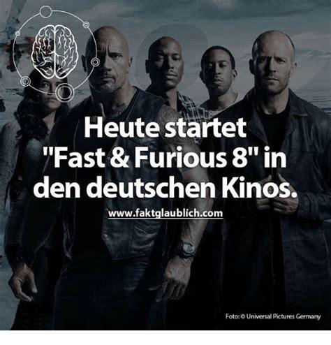 fast and furious 8 kinostart deutschland heute startet fast furious 8 in den deutschen kinos