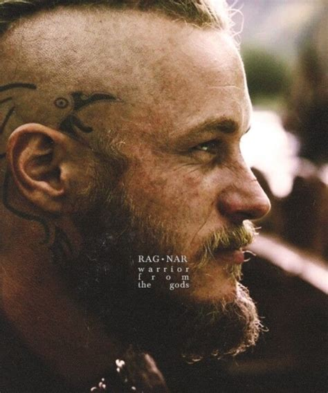 meaning behind ragnars tattoos travis fimmel vikings cynthia chaffey a lovely bearded