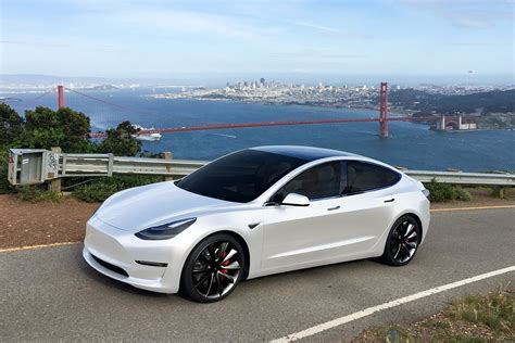 Pearl White Model 3 : teslamotors