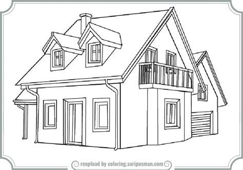 printable house balamory houses free colouring pages