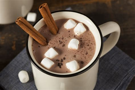frozen hot chocolate calories large cinnamon hot chocolate calorie control council