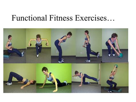 Bench Leg Extension Ppt Functional Fitness At 50 And Older Powerpoint