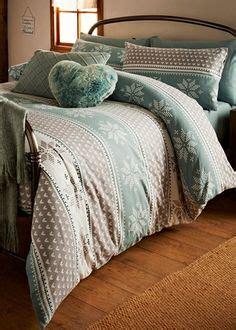 matalan bed linen brushed cotton fairisle print duvet set king size 163 35 at