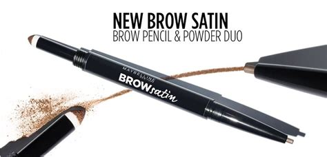 Maybelline Fashion Brow Pencil maybelline brow satin eyebrow sculpting duo pencil