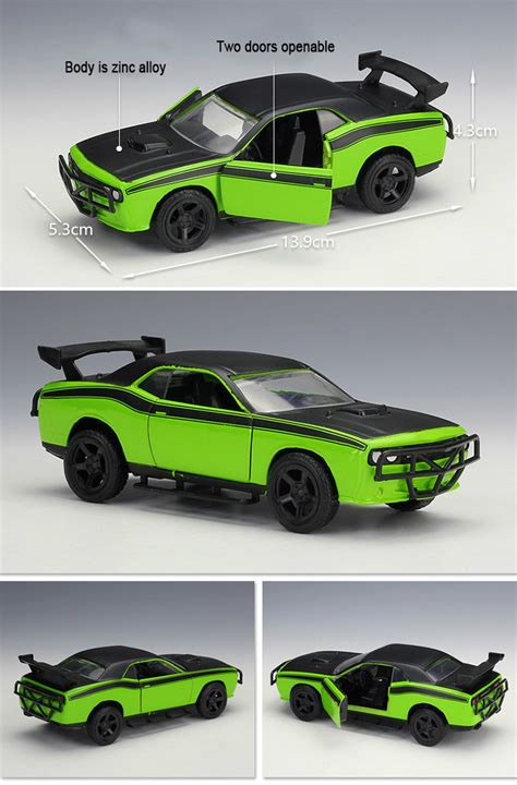 Fast Furious Lettys Car Dodge Challenger Srt8 Diecast 132 1 32 fast and furious 7 letty s dodge challenger srt8