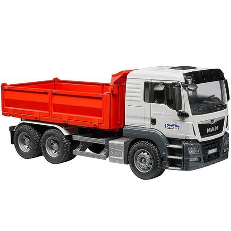 bruder truck bruder tgs construction dump truck educational toys