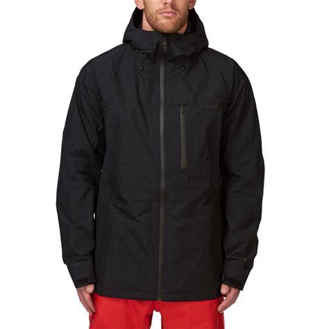 burton radial true black snowboard jacket true black