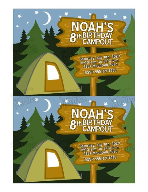 camp out invitations printable free image result for camp invitation templates free camp