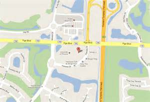 maps directions to bascom palmer at palm gardens
