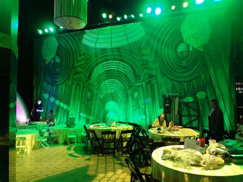 city decorations theatreworld makes it to the wizard of oz 75th anniversary