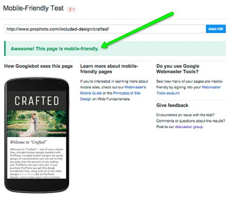 layout features quiz prophoto mobile layout and google seo 187 prophoto
