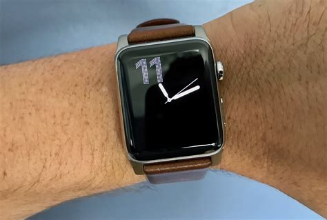 Nomad Horween Leather Apple 42mm Traditional Build Silver the nomad modern build leather for apple is