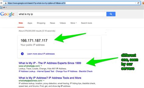 what is my up networking how does google obtain my ip address in