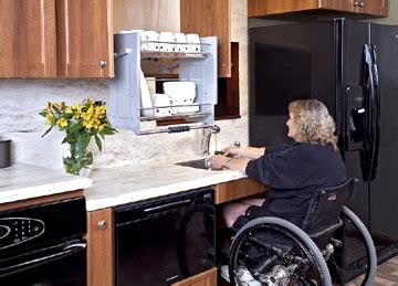 handicap accessible kitchen cabinets modified accessible kitchens for the mobility challenged