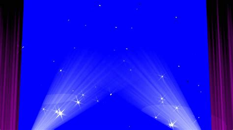 the curtain raiser stage curtain blue screen show royalty free video effect