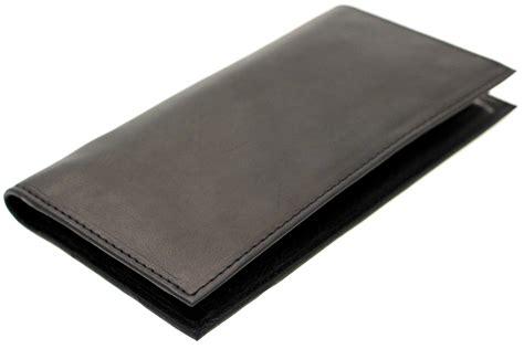 checks book mens womens checkbook wallet removable checkbook cover