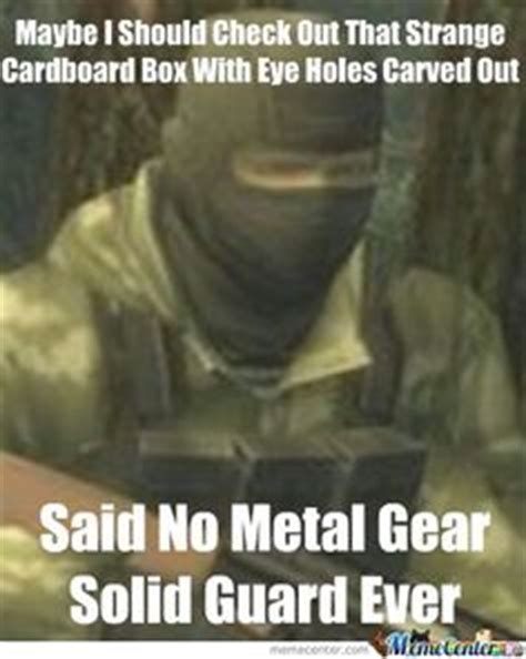 Metal Gear Solid Meme - 1000 images about metal gear solid on pinterest metal gear solid metal gear and snakes