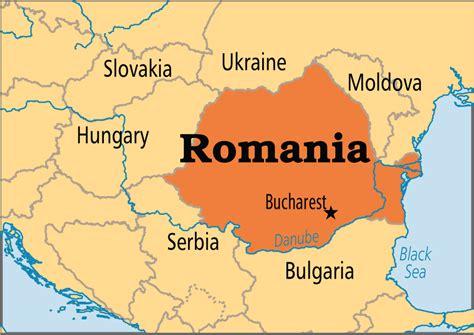 romania on the world map romania operation world