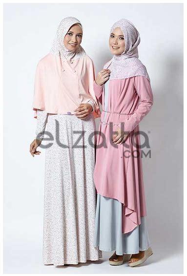 Harga Gamis Merk Elzatta trend model busana muslim elzatta terbaru fashion style