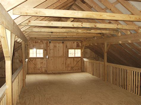 interior barn layout center aisle hay loft design