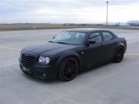 chrysler 300c black chrysler 300c srt8 matte black
