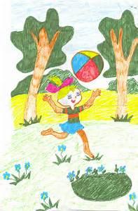 рисунки на детский день рождения