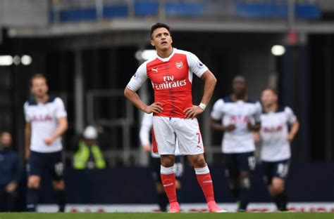 alexis sanchez to spurs no pride soul or mental strength arsenal answer many