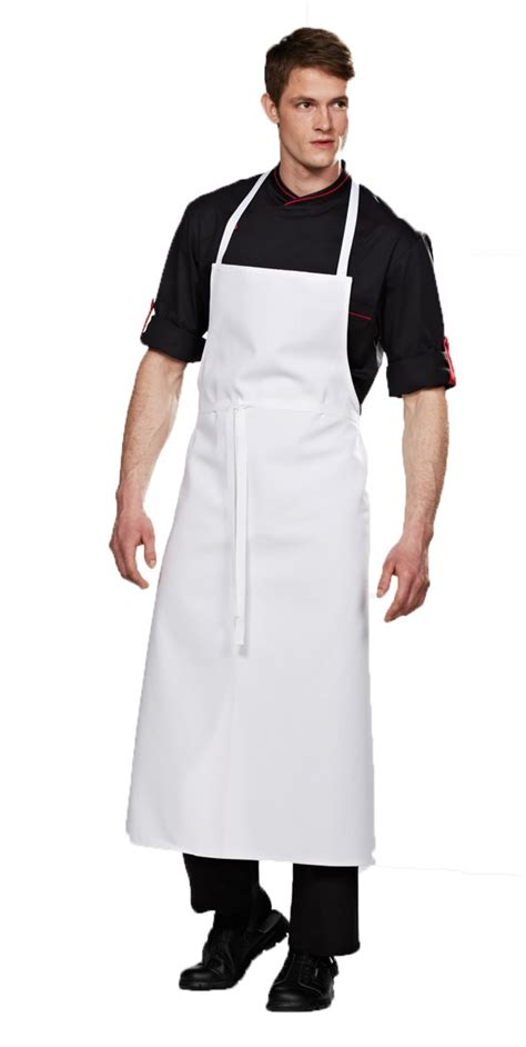 travel white pocket chef apron chef jackets by bragard usa