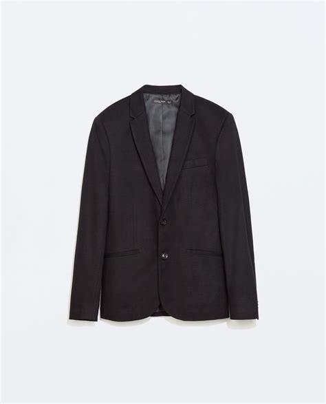 Basic Blazer G zara basic blazer basic blazer in black for