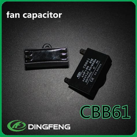 ceiling fan run capacitor ceiling fan capacitor cbb61 450v 1 5uf motor run capacitor