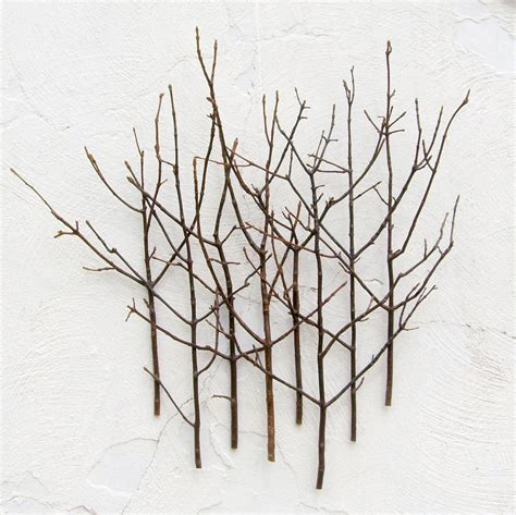 twig wall decor twig wall art 6 lighted wall art 12 creative diy