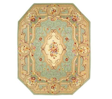 qvc royal palace rugs royal palace beveled edge savonnerie 8x10 handmade wool rug qvc