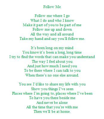 Lyrics to a popular song sung at Kappa Delta weddings