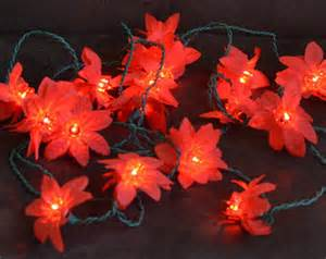 popular items for poinsettia lights on etsy