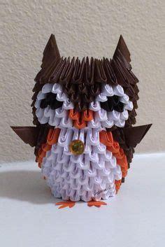 Modular Origami Owl - 3d origami owl 折り紙3d おりがみ と 折り紙